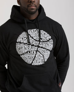 Basketball Is... Black Pullover Hoodie