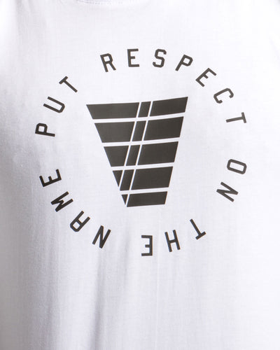 Put Respect On The Name Mens White T-Shirt