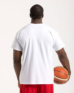 Teamwork Wins Championships Mens White T-Shirt