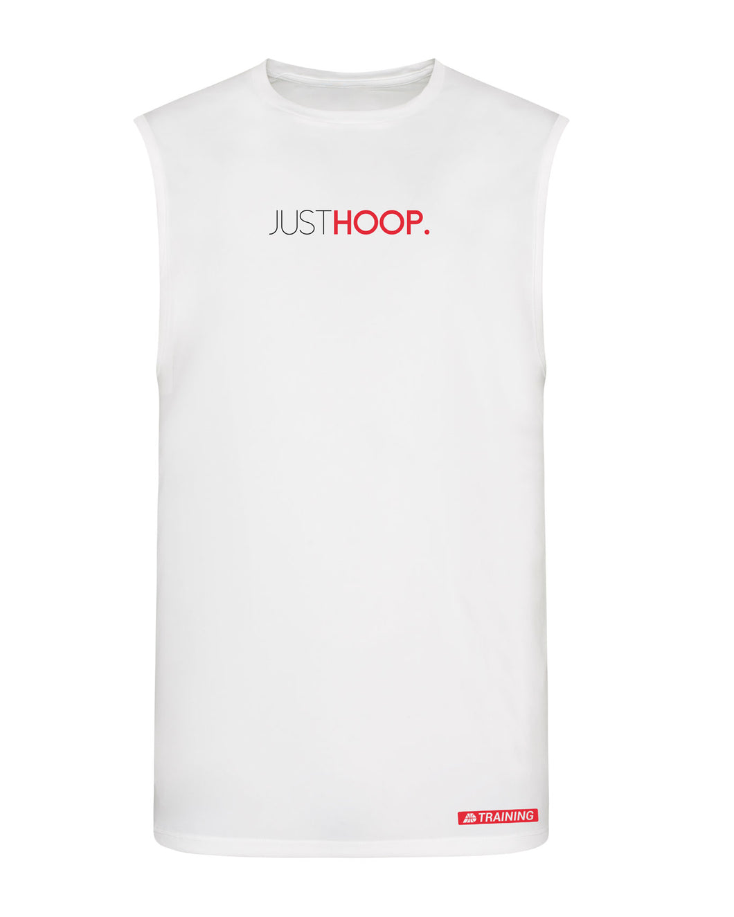 Just Hoop White Performance Vest