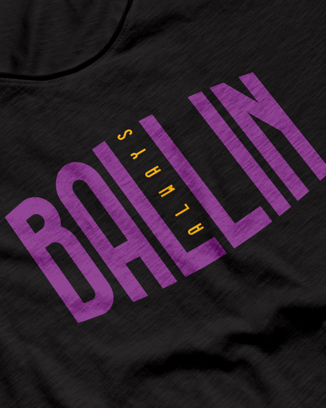 Ballin Always Black Sleeveless Performance Vest