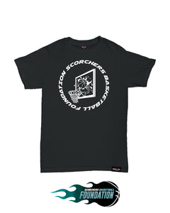 SBF x Tayo & Lovell Kids Black T-Shirt
