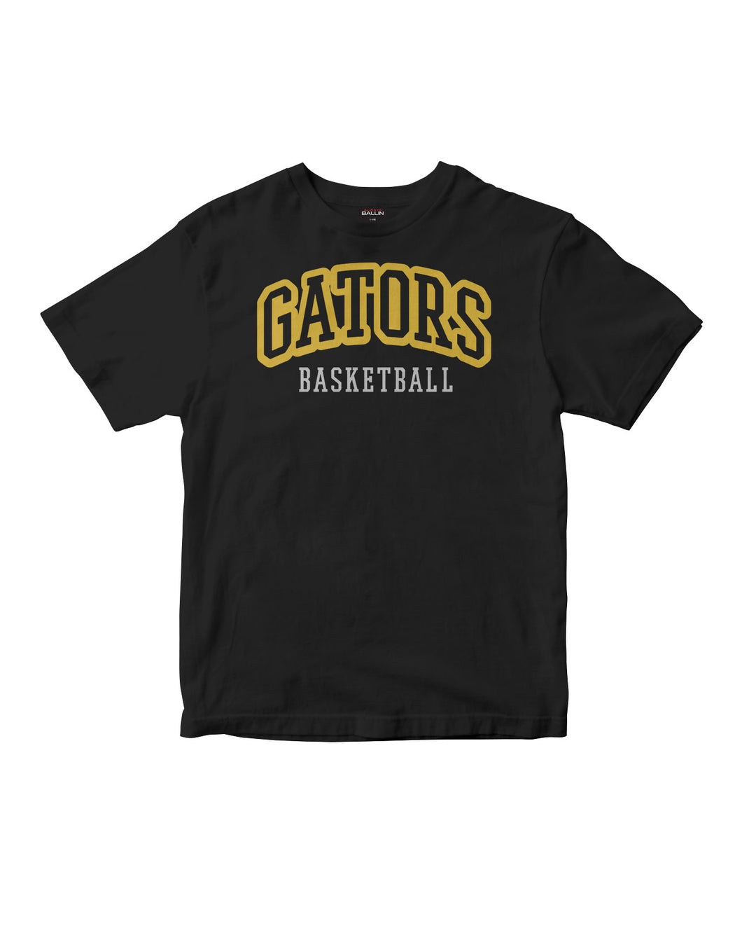 Gators Basketball Kids Black T-Shirt