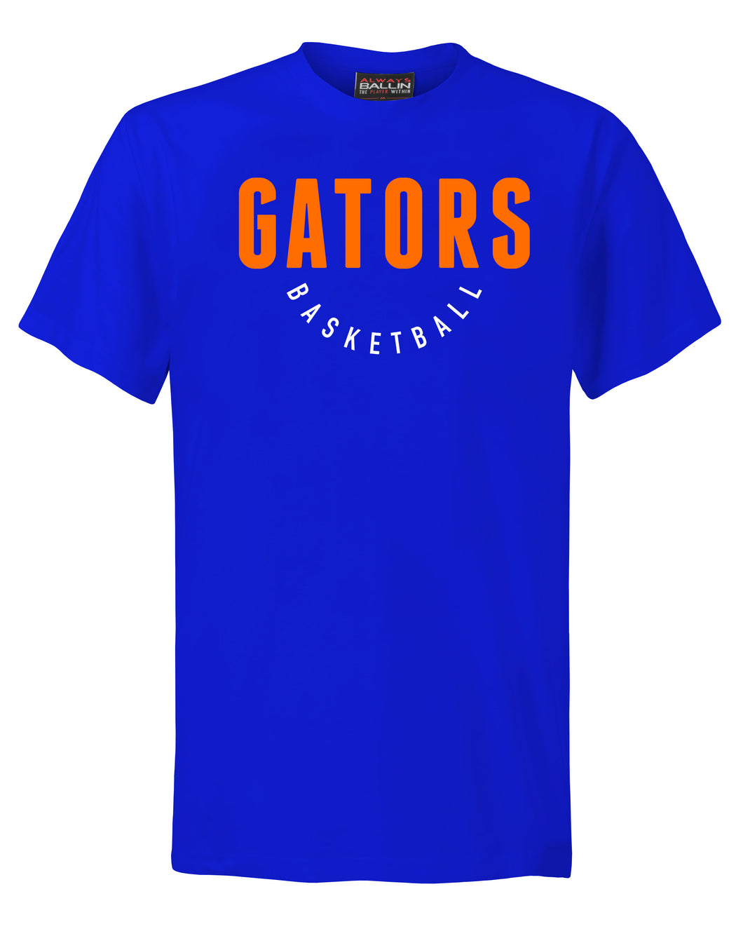 Gators Basketball Adult Royal Blue T-Shirt