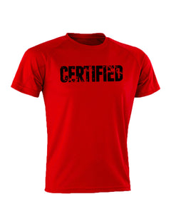 Certified Performance Red T-Shirt