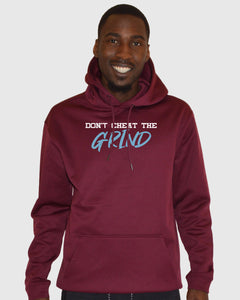 Don't Cheat The Grind V4 Performance Burgundy Hoodie