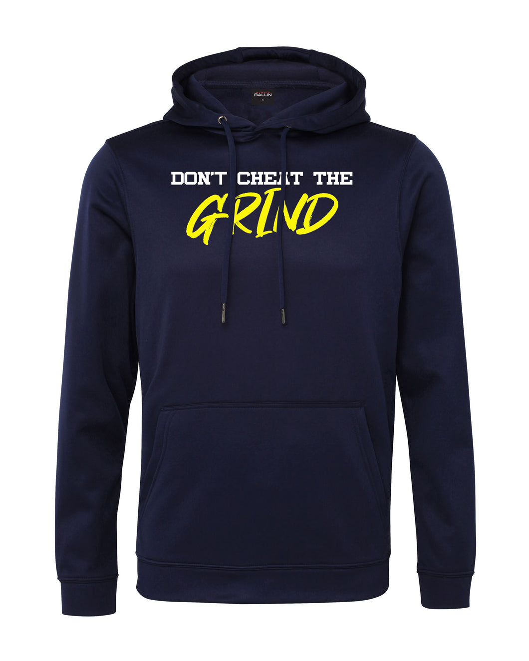 Don't Cheat The Grind V4 Performance Navy Blue Hoodie