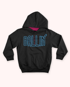 Ballin Always Finals Heat Pullover Kids Hoodie