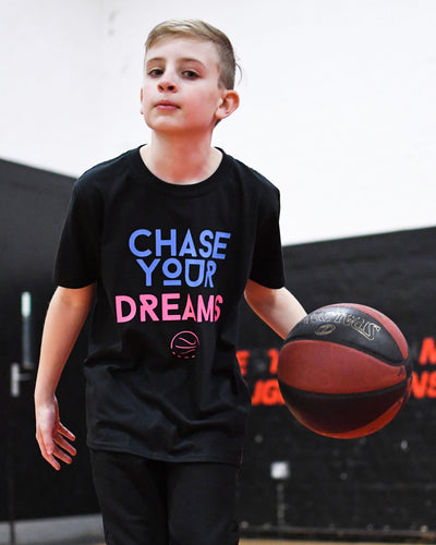 Chase Your Dreams Heat Kids T-Shirt