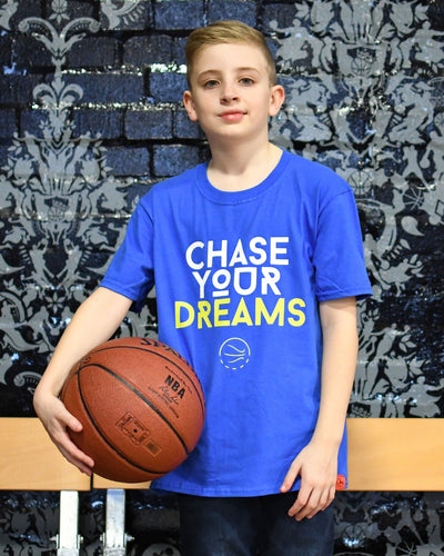 Chase Your Dreams Warriors Kids T-Shirt