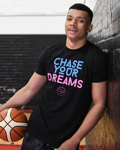 Chase Your Dreams Heat Mens T-Shirt