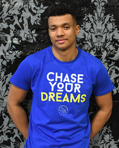 Chase Your Dreams Warriors Mens T-Shirt