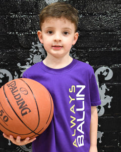 Vertical AB Lakers Kids T-Shirt