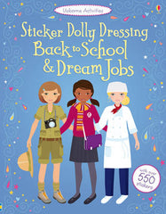 Sticker Dolly Dressing: Back to School and Dream Jobs