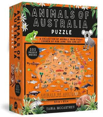 Animals of Australia Puzzle: 252-Piece Jigsaw Puzzle
