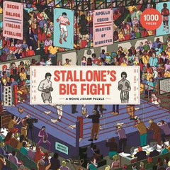 Stallone's Big Fight: A Movie Jigsaw Puzzle