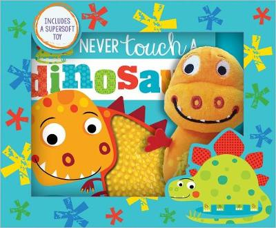 Never Touch a Dinosaur! Book and Toy Boxed Set