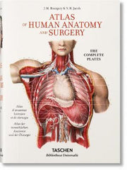 Jean Marc Bourgery. Atlas of Human Anatomy and Surgery