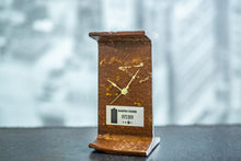 Load image into Gallery viewer, Martin Tower I-Beam Clock with Certificate of Authenticity