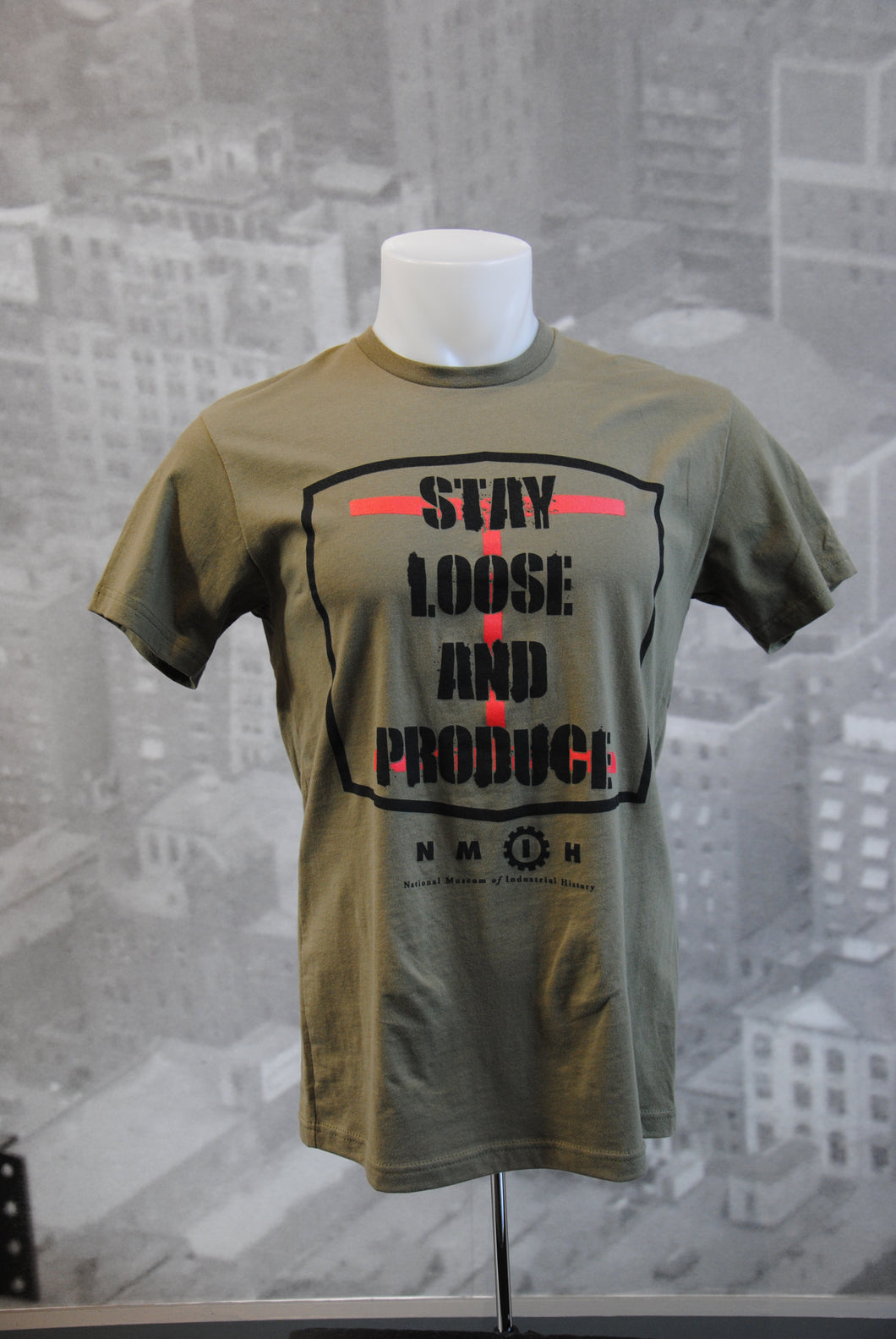 Stay Loose and Produce Crew Neck T-Shirt