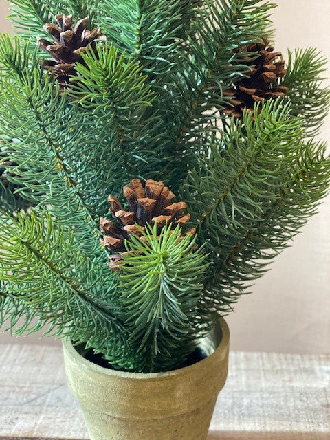 Faux Christmas Tree - Potted