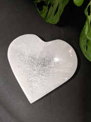 Selenite Heart Cleansing Bowl