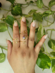 'Natasha' Ring Set