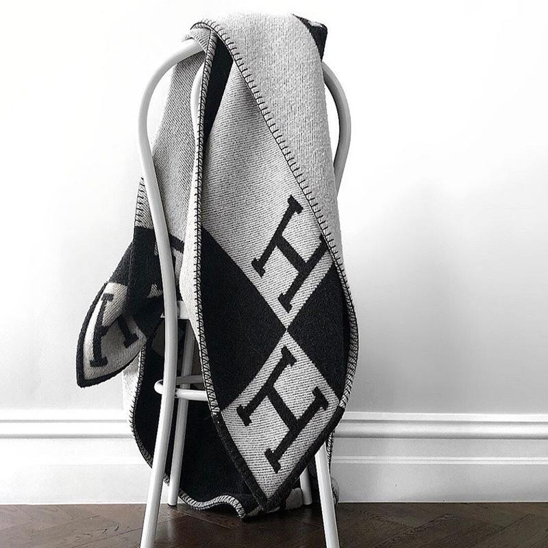 Ember & Field® Luxury H Wool Blanket
