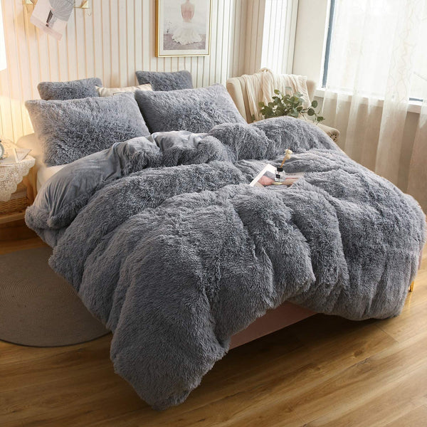 Blueberry Cloud Blanket Set (3PCS)