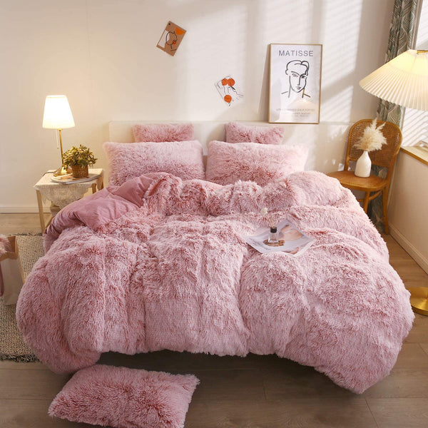 Cotton Candy Cloud Blanket Set (3PCS)