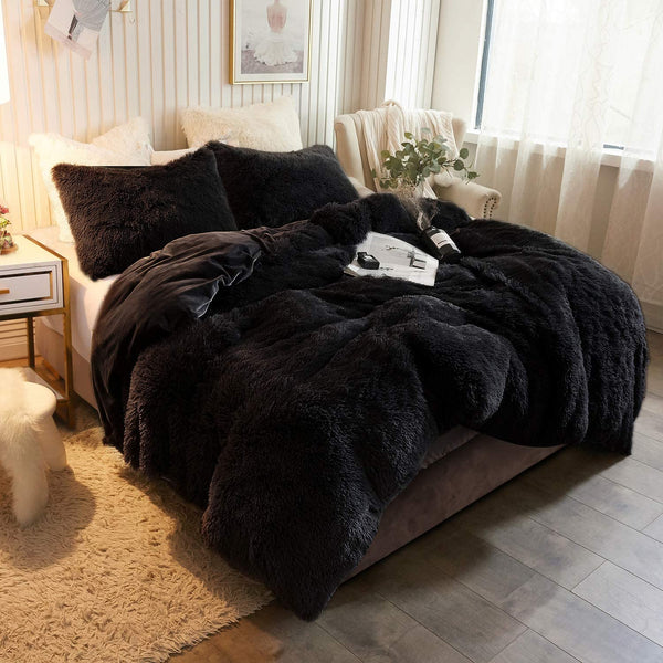 Noir Cloud Blanket Set (3PCS)