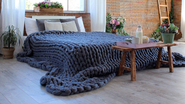 Ember and Field® Chunky Blanket