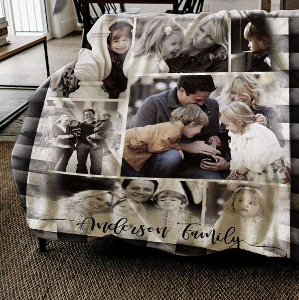 Ember&Field - Personalized Cozy Memory Blanket