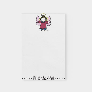 PI Beta Phi Angel Sorority Notepad
