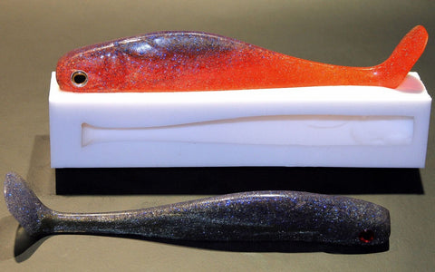 "Shad mould (8"" 200mm) 72g lure"