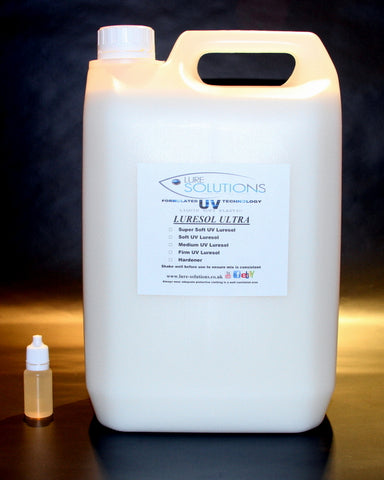SOFT PLASTIC UV LURESOL ULTRA 5litre with free heat stabilizer