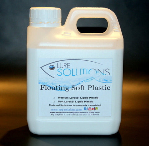 FLOATING LIQUID SOFT PLASTIC PLASTISOL 1 litre