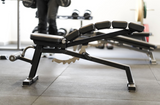 ADJUSTABLE SPINAL BENCH DECLINE