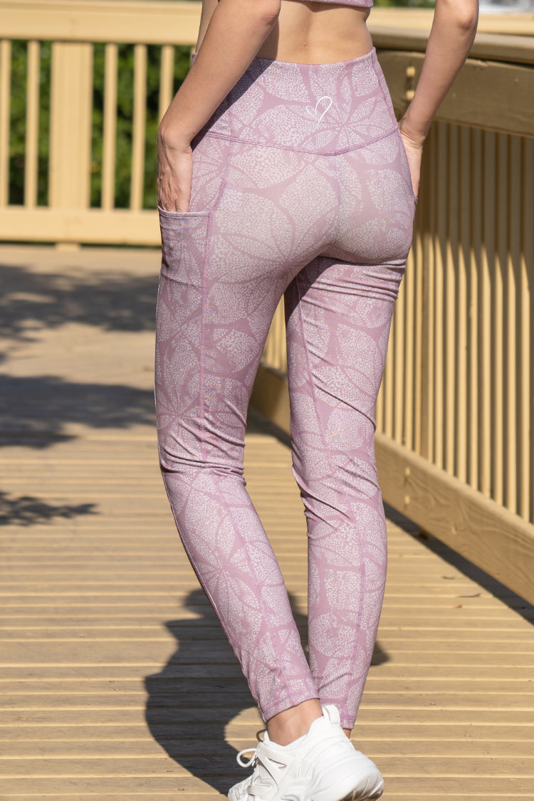 "Women's Taylors Legging ""Lotus Dots"""