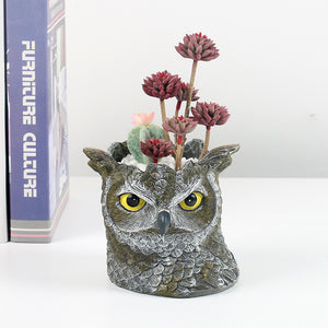 🔥49% OFF🔥Owl resin flower pot