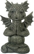 🔥49% OFF🔥MystiCalls Garden Dragon Meditated  Statue Collecting