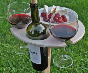 🔥49% OFF🔥OUTDOOR PORTABLE WINE TABLE