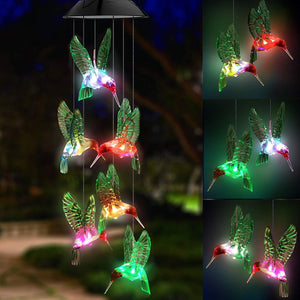 🔥49% OFF🔥Solar LED light wind chime