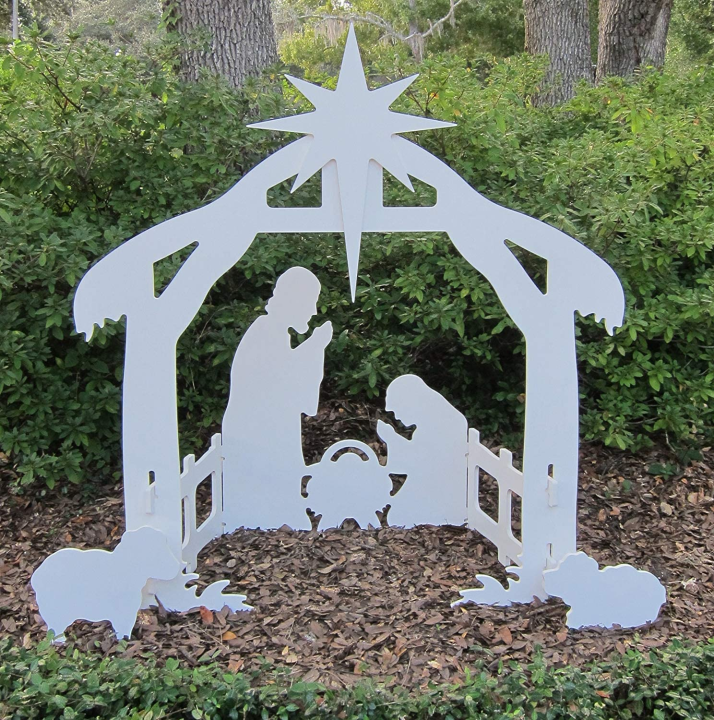【NEW YEAR SALE】OUTDOOR NATIVITY SCENE COMPLETE NATIVITY SET-BUY 2 FREE SHIPPING