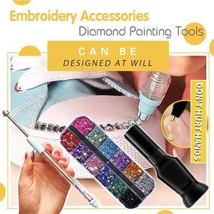 🔥49% OFF🔥Diamond Painting Pen DIY Embroidery Accessories Kit