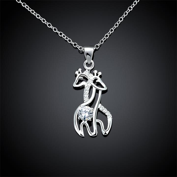 I Will Always Be There For You - Giraffes Necklace