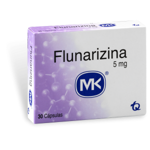 Flunarizina 5 Mg 30 Tabletas MK