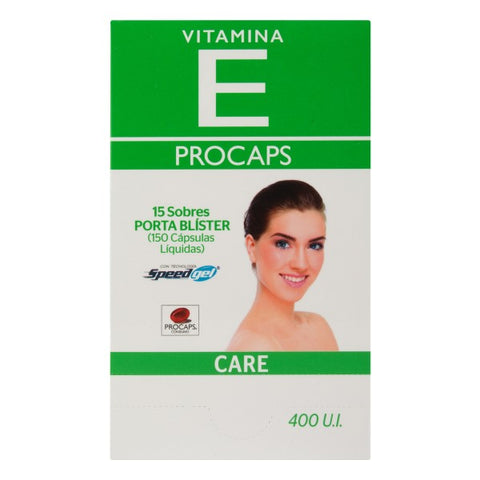 Vitamina E Care 400 U I 150 Capsulas