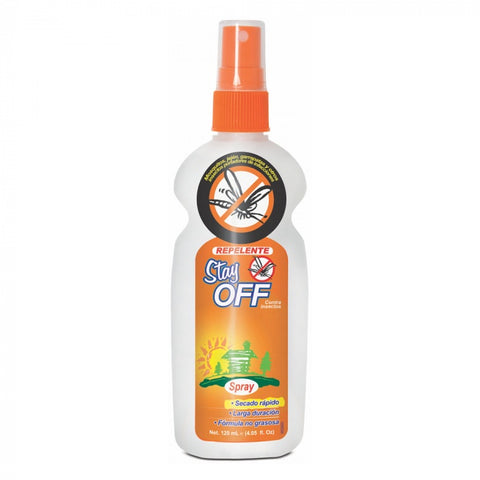 Repelente Stay Off Spray Adultos x 120 ml