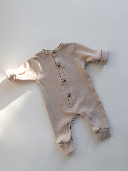 palm and milk family concept store usa San Francisco Kindly the label ribbed baby romper style palmandmilk